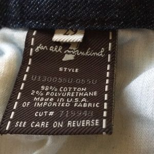 7 For All Mankind Jeans - 7 For All Mankind 'A' pocket Jeans 29x31 EUC